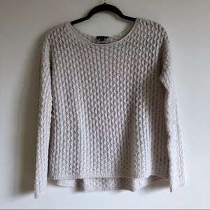 The Limited Cream Sweater | S